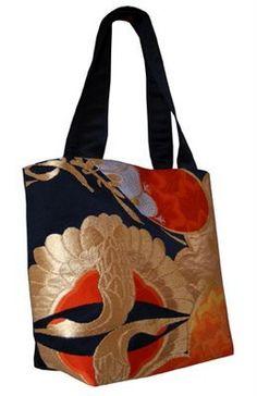 Kimono bag by Kimono Reincarnate designer Melanie Augustin