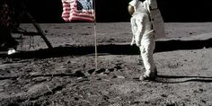 45 years ago man arrived to the moon. On July 1969 capsule Eagle, on the eleventh mission of Apollo program arrived to the moon, and austronauts Neil Armstrong and Edwin Aldrin were the first human beings walking on our natural satelite. (Image by AFP) Back To The Moon, Man On The Moon, Michael Collins, Neil Armstrong, Asteroid Mining, Google Earth, Apollo 11 Moon Landing, Mystery, Apollo Program
