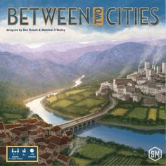 Between Two Cities--A Double-Take Preview — Theology of Games #boardgames #review #Boardgames #Kickstarter