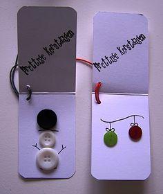 Haal alle knopen tevoorschijn en maak een persoonlijke kaart!