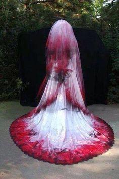 Gothic wedding gown ❤️