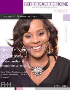 """I spoke with Dr. Nicole B. Simpson (@nicolebsimpson), CFP and Best Selling Author of """"Dare to Dream"""" on how to survive and thrive during #COVID19 and beyond. #Listen on @iHeartRadio, @pandoramusic, @ApplePodcasts, @Spotify and all audio streaming outlets. ow.ly/l1tE50AmwTA"""