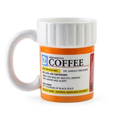 Prescription Bottle Coffee Mug | 31 Delightfully Weird Gifts For All The Medical Nerds In Your Life