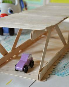 Activities: Build a Popsicle Stick Bridge