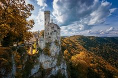 Lichtenstein Castle in Baden-Württemberg, Germany.
