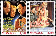 GRACE KELLY - STAMPS