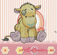 "Camel - Machine Embroidery Designs Set for a Babies and Children of a series ""Old Toy"""