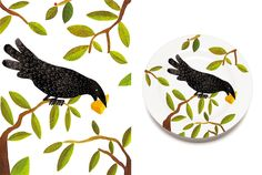 The Raven and the Fox on Behance