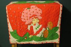 Strawberry shortcake blanket!