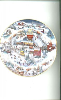 McDonald's Collector Plate Golden Country By Bill Bell Limited Edition