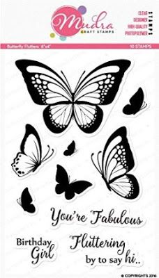 Mudra Craft Stamps: Search results for butterfly flutters
