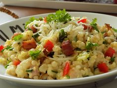 Fried Rice, Bon Appetit, Risotto, Fries, Veggies, Food And Drink, Vegetarian, Cooking, Ethnic Recipes