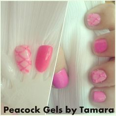 Practice Inspiration Gel and Polish. Quilted and Studs For Manicure And Pedicure