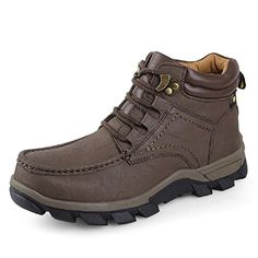 LOVEBEAUTY Mens Mid Waterproof Hiking Boot Brown US 9 *** Read more  at the image link. (This is an Amazon affiliate link and I receive a commission for the sales and I receive a commission for the sales)