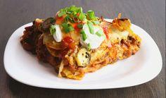 Dorito-Lasagne Tortillas, Sour Cream, Taco Salat, Cheat Meal, Doritos, Bolognese, Tex Mex, Ratatouille, Italian Recipes