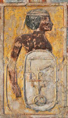 Tomb of Kheruef (TT192), reign of Amenhotep III and Akhenaten: bound captive from Upper Egypt © OSIRISNET.NET
