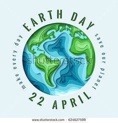 World Earth day concept. … World Earth day concept. Paper carving Earth map shapes with shadow. Save the Earth concept. Earth Day Images, Earth Day Pictures, Earth Day History, World Earth Day, Earth Day Posters, Earth Poster, Kirigami, Earth Day Drawing, Earth Drawings