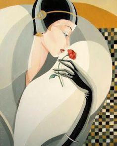 Discover ideas about estilo art deco Art Gallery, Art Deco Posters, Illustrations Posters, Art Drawings, Art Deco Illustration, Illustration Art, Poster Art, Art, Art Deco Fashion