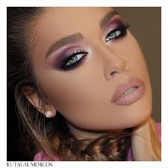 «Pink Eye Glam for the night #talalmorcos #mua #2015»