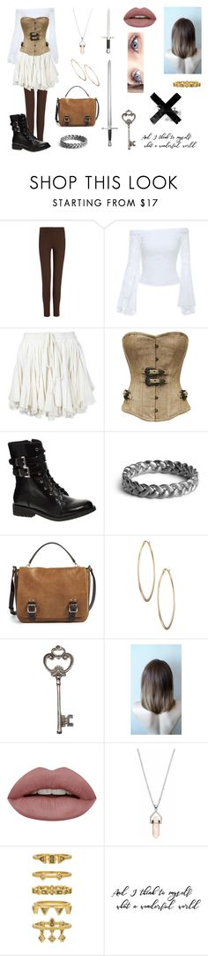 """Pirate101: Monquista"" by pastelkittyxx ❤ liked on Polyvore featuring beauty, Joseph, Bebe, Vivienne Westwood Gold Label, Shellys, Vince Camuto, Lydell NYC, Healing Stone and Luv Aj"
