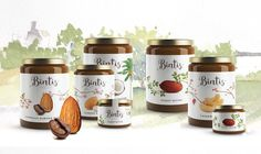 Bintis Nut Butters on Packaging of the World - Creative Package Design Gallery