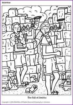 Coloring pages of joshua jordan river memorial stones