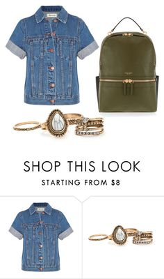 """""""Untitled #728"""" by alayjane ❤ liked on Polyvore featuring Madewell and Henri Bendel"""
