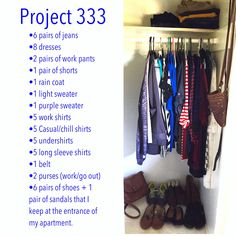 Fall 2017 Project 333 Capsule Wardrobe by Bellz (@xsiempreunik) on Instagram #project333 #capsulewardrobe #autumnwardrobe