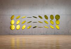 Official website of Olafur Eliasson and his studio: Meteorological circles Art Sculpture, Wall Sculptures, Studio Olafur Eliasson, Modern Art, Contemporary Art, Icelandic Artists, Blog Art, Street Art, Exhibition Space