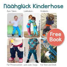 Näähglück Kinderhose - FREEBOOK - neue überarbeitete Version in neuem Design!