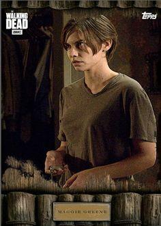 Topps The Walking Dead Maggie Versus My Name is Maggie BROWN Digital Card