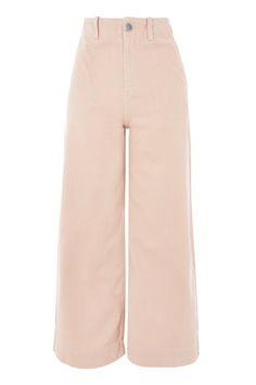 PETITE Twill Sailor Trousers