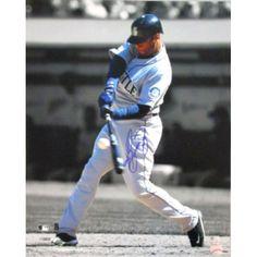 MLBPAA Ken Griffey Jr. Seattle #Mariners Autographed Spotlight Batting Photograph $259.99 to $329.99