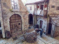 Beautiful Buildings, Decoration, Miniatures, Action, World, Bethlehem, Models, Rustic Doors, Nativity Sets