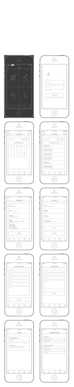 Excalibur iPhone App by Usama Sarwar, via Behance