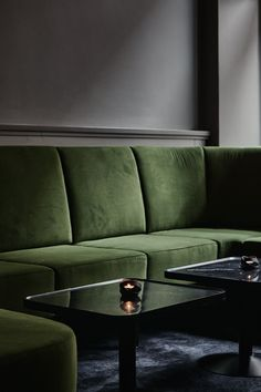 This is Le'Roy nightclub, designed by Joanna Laajisto. I always like her work and her sense for color, textures and materials. I love the combination of the velvet seats, with the dark green and blue colors on the dark hardwood floor. … Continue reading →