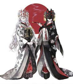 Japanese Kitsune Masks