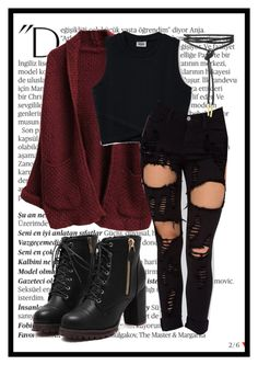 """""""Fall Outfit"""" by plainjanestyling on Polyvore featuring Balmain"""