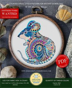 Thrilling Designing Your Own Cross Stitch Embroidery Patterns Ideas. Exhilarating Designing Your Own Cross Stitch Embroidery Patterns Ideas. Modern Cross Stitch Patterns, Counted Cross Stitch Patterns, Cross Stitch Embroidery, Embroidery Patterns, Hand Embroidery, Mandala, Different Types Of Fabric, Needlepoint Kits, Cross Stitch Kits
