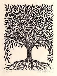 tree linocut designs - Google Search