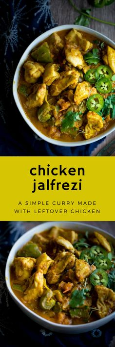 Chicken Jalfrezi - An easy to make chicken curry that's prefect for using up your leftovers!