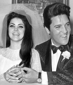 Priscilla Beaulieu and Elvis Presley, May 1, 1967.