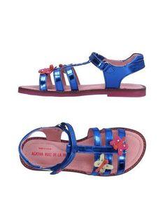 AGATHA RUIZ DE LA PRADA Girl's' Sandals Blue 2Y US