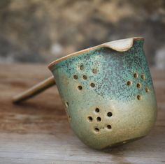 Ceramic tea infuser, great idea!