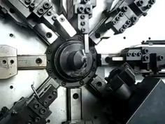 spring forming machine GIF and short video - HomemadeTools.net