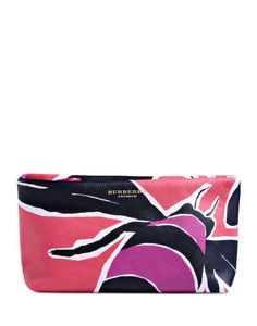 Burberry Prorsum Painted Leather Clutch