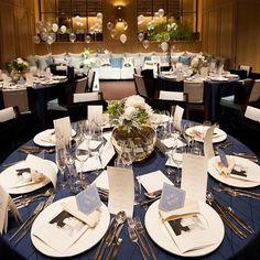 Qtさんが投稿した写真詳細です[57edd3ef54cb04324022808a] | 結婚式準備なら「ハナコレ」 Gold Wedding Decorations, Wedding Table Flowers, Wedding Paper, Wedding Images, Wedding Designs, Blue Wedding, Wedding Colors, Table Arrangements, Wedding Welcome