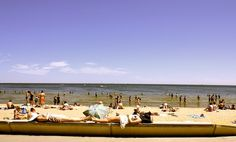 Summer day on St Kilda beach, Melbourne, Australia Melbourne Australia, Australia Travel, Melbourne Suburbs, St Kilda, My Town, Summer Days, Places Ive Been, Dolores Park, To Go