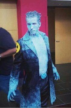 Ice Man. X-Men, Marvel.