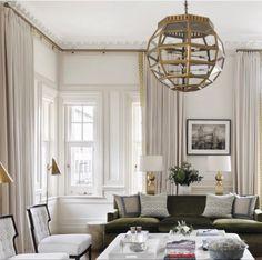 Bay Window Curtain Poles, Curtain Rods, Contemporary Windows, Made To Measure Curtains, Custom Window Treatments, Drapery Hardware, Custom Curtains, Window Styles, Interior Inspiration